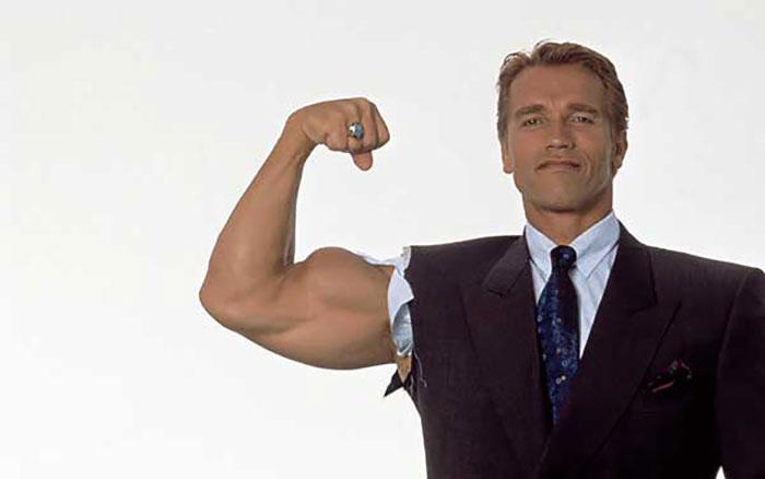 is Arnold Schwarzenegger dumb