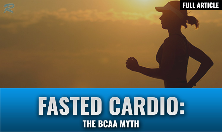 should you take bcaas before fasted cardio