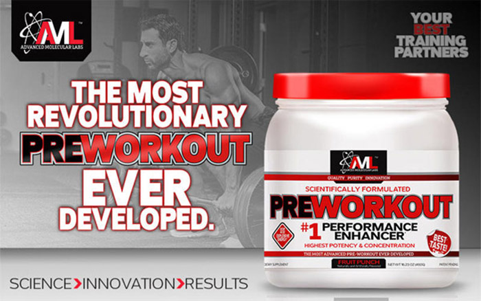 AML Pre Workout review