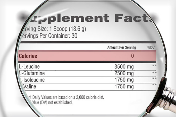 how do bcaas have no calories