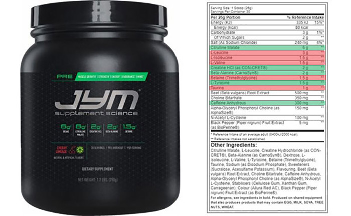 is pre jym the best pre workout