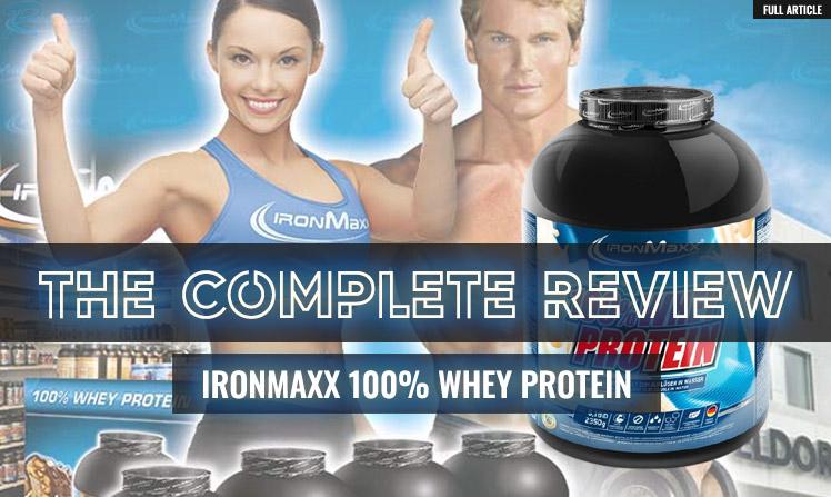 ironmaxx 100 whey protein review