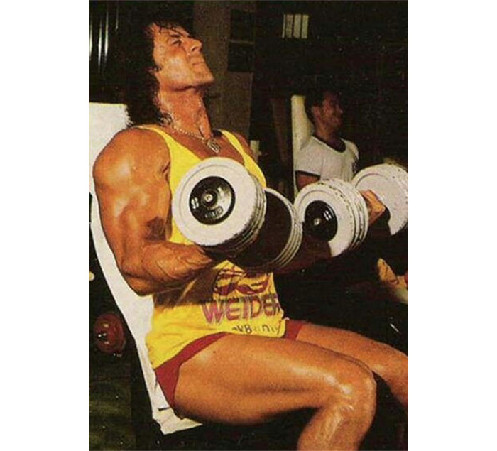 Sylvester Stallone workouts