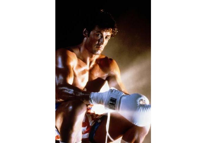 Sylvester Stallone Rocky IV workout