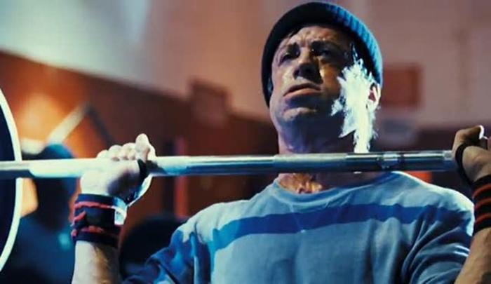 Sylvester Stallone Rocky Balboa workout