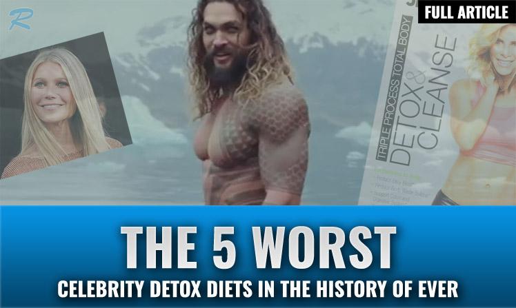 worst celebrity diets