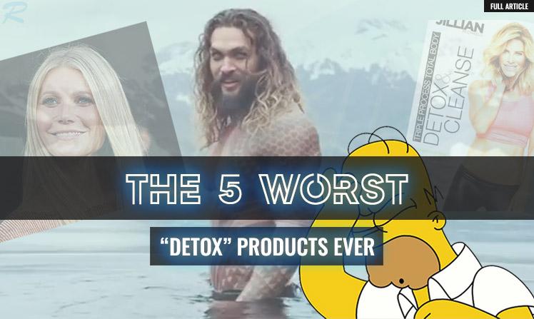 detoxes are bullshit