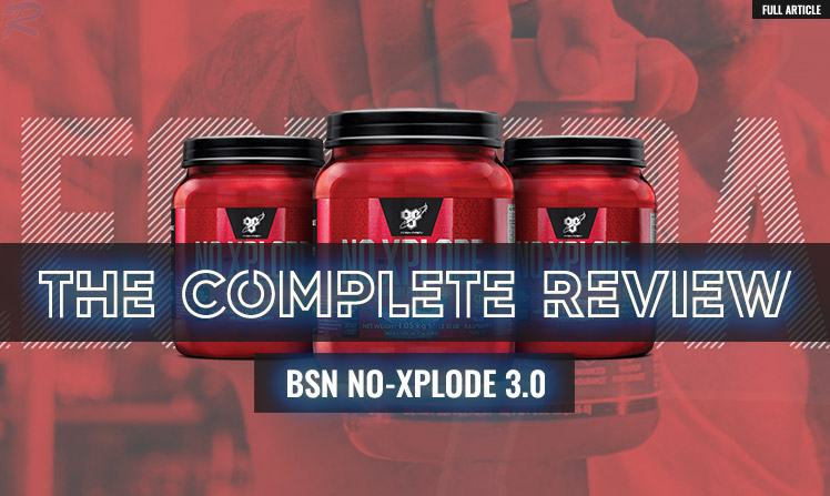 BSN NO XPLODE REVIEW