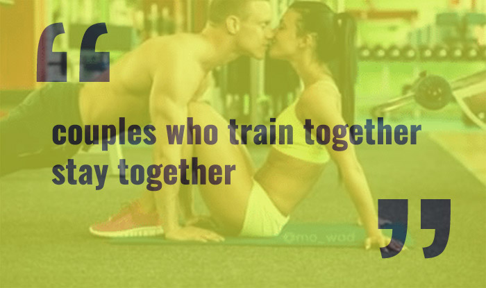 couples who train together stay together