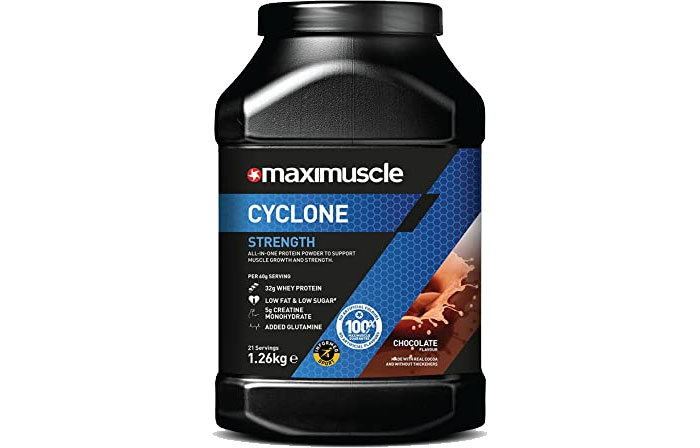 Maximuscle Cyclone review 2021