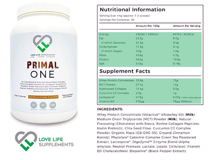 love life supplements primal one review