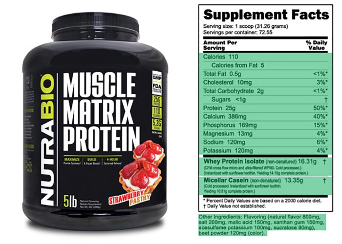Nutrabio Muscle Matrix Protein review