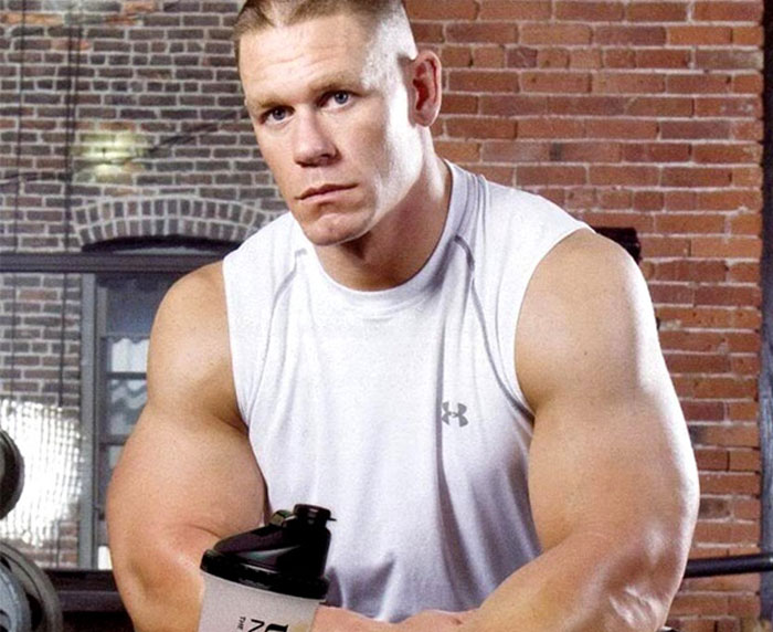which supplements does John Cena use