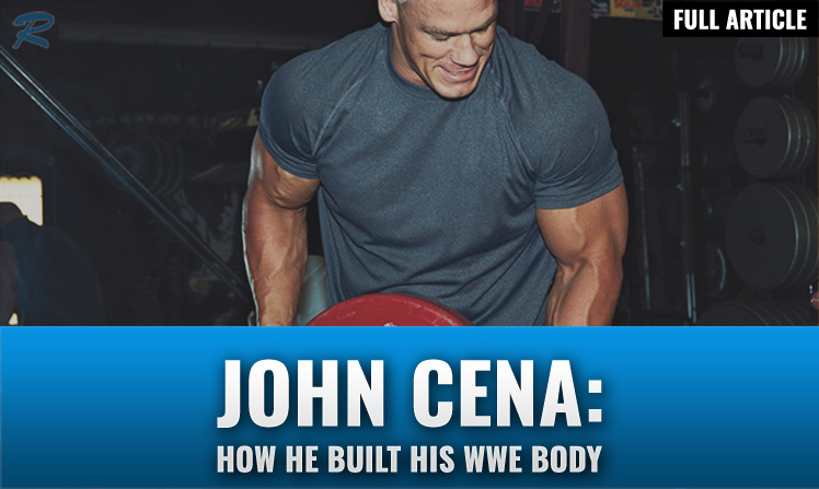 John Cena workout routine and diet