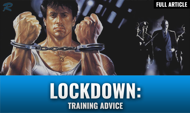 LOCKDOWN WORKOUT PLAN