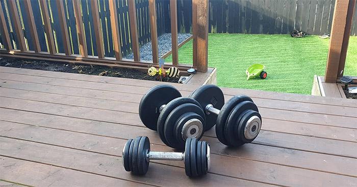 lockdown workout routine