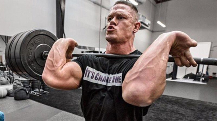 John Cena workout routine 2020