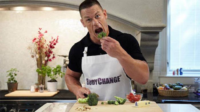 John Cena diet