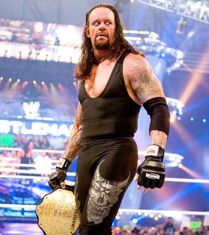 The Undertaker bodybuilding
