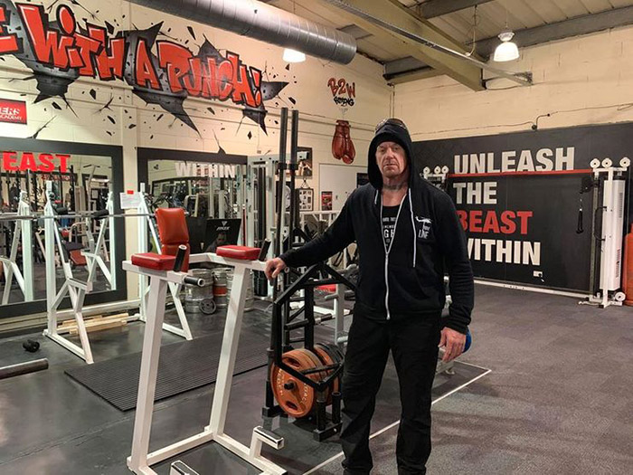 the undertaker workout 2020