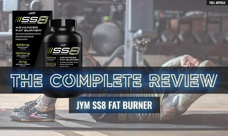 SS8 FAT BURNER REVIEW
