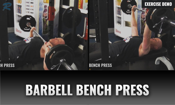 BARBELL BENCH PRESS DEMO