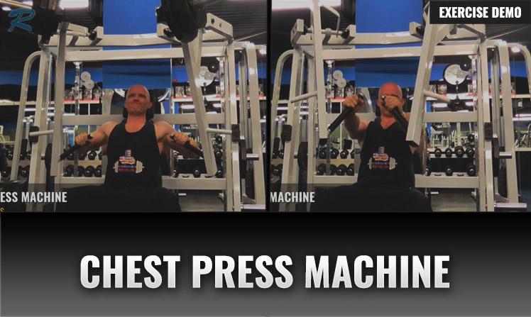 chest press machine demo