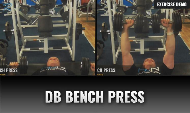 DUMBBELL BENCH PRESS
