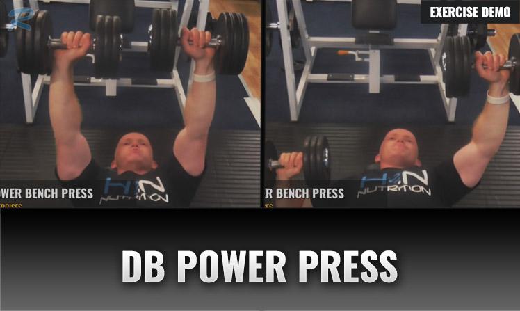 dumbbell power chest press