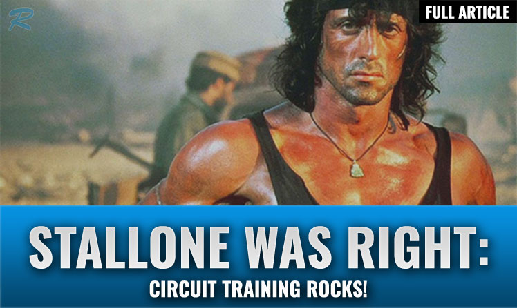 Sylvester Stallone training plan