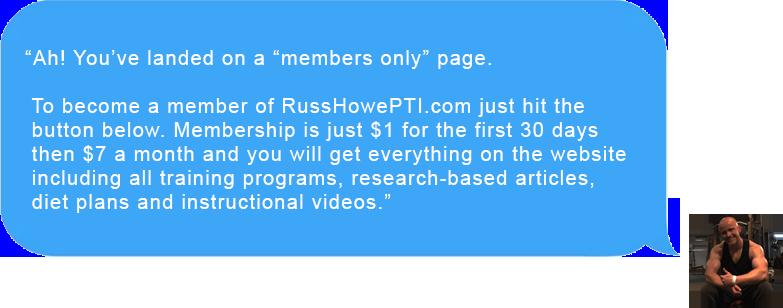 russ howe pti